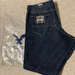 American eagle men's jeans size 44w 32L New boot